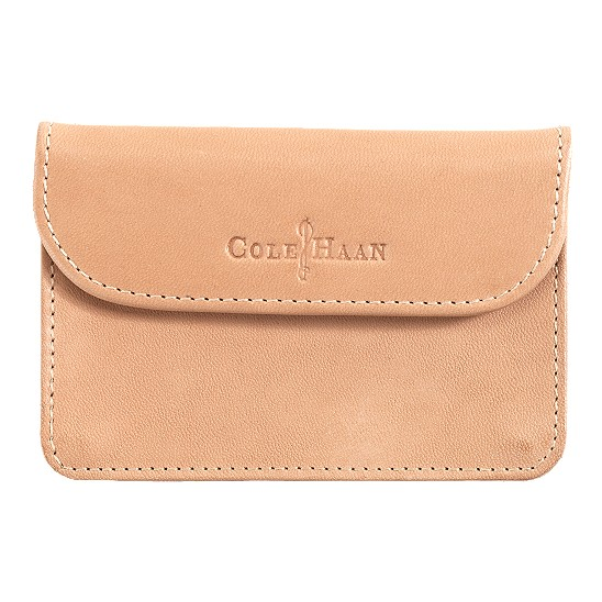 Cole Haan Merced Snap Card Case Buff Outlet Coupons
