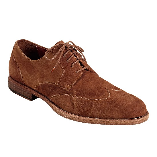 Cole Haan Vincenti Wingtip Oxford Henna Suede Outlet Coupons