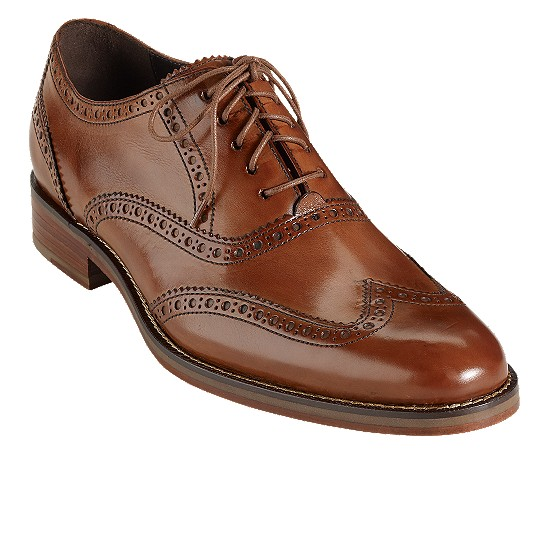 Cole Haan Air Madison Wingtip Oxford British Tan Calf Outlet Coupons