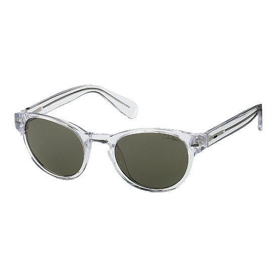 Cole Haan Acetate Round Keyhole Bridge Sunglasses Crystal Ice Outlet Coupons