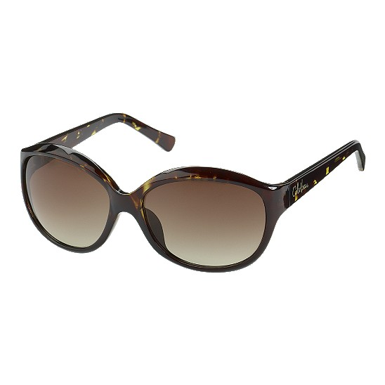 Cole Haan Acetate Round w/Signature Logo Sunglasses Tortoise/Black Fade Outlet Coupons