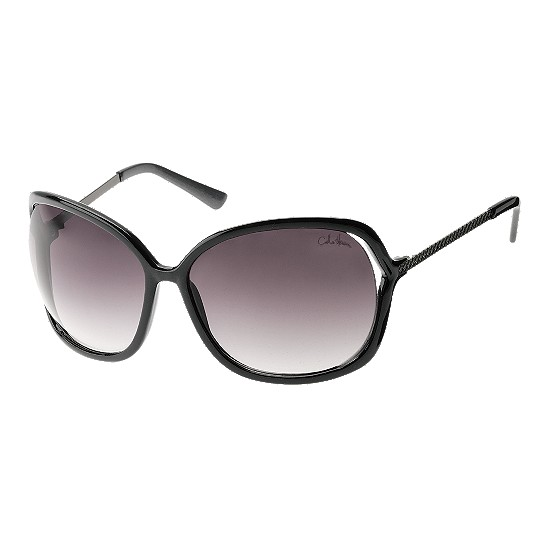 Cole Haan Open Square w/Logo Sunglasses Black/Cockle Outlet Coupons