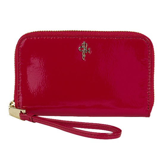 Cole Haan Jitney Electronic Wristlet Tango Red Patent Outlet Coupons