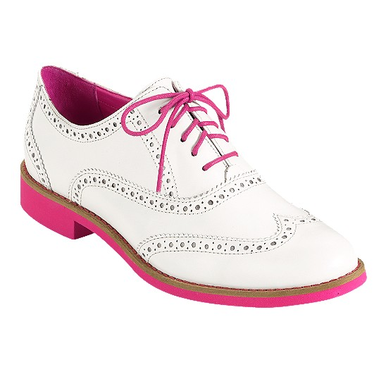 Cole Haan Alisa Oxford Ivory/Azalea Outlet Coupons