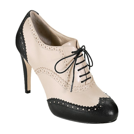 Cole Haan Lucinda Air Oxford Pump Black/White Pine Outlet Coupons