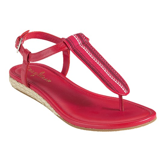 Cole Haan Molly Flat Sandal Tango Red/Tango Red Multi Webbing Outlet Coupons