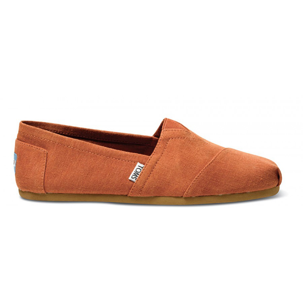 Toms Earthwise Orange Men Classics Outlet Coupons