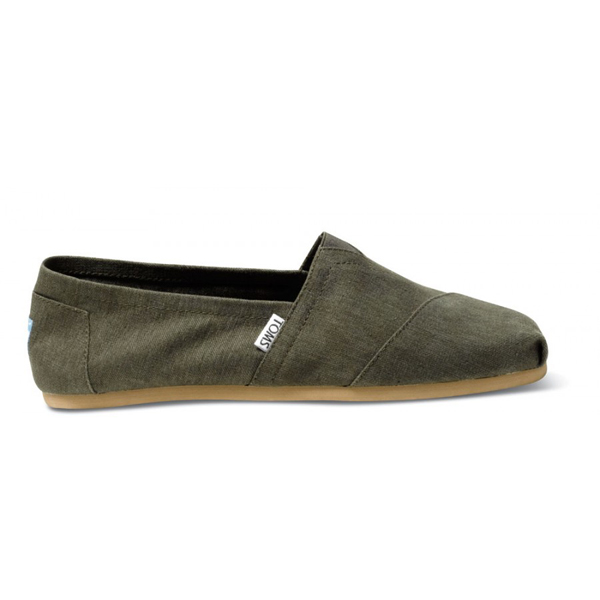 Toms Earthwise Fall Green Men Classics Outlet Coupons