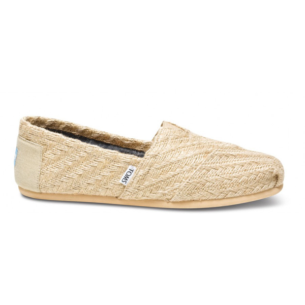 Toms Burlap Basket Weave Men Classics Outlet Coupons