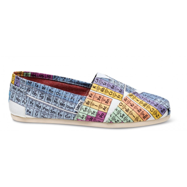 Toms Periodic Table Men Vegan Classics Outlet Coupons