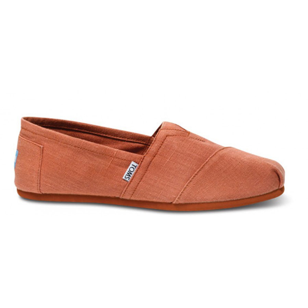 Toms Earthwise Rust Men Vegan Classics Outlet Coupons