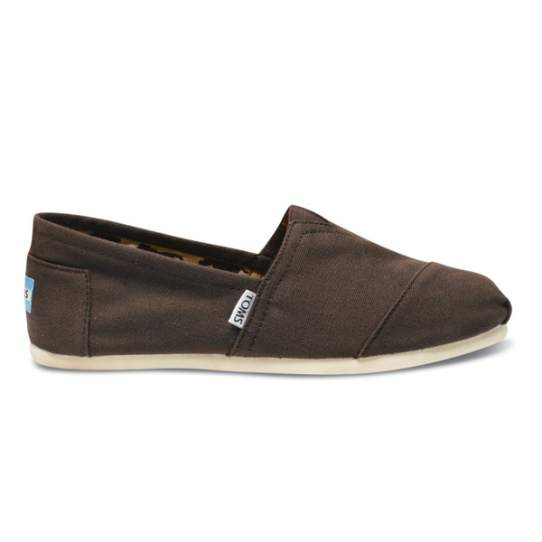 Toms Chocolate Canvas Men Classics Outlet Coupons