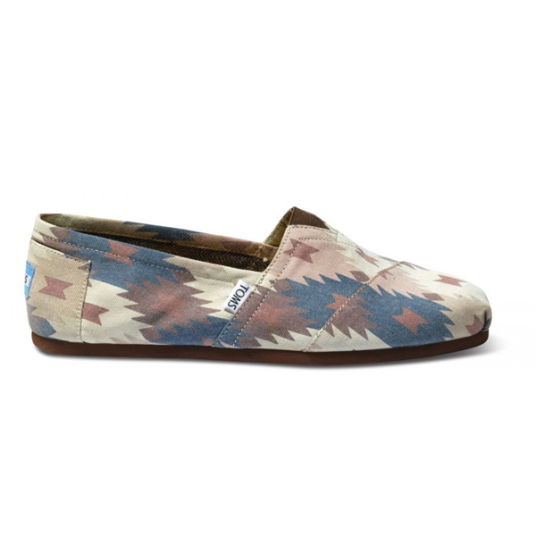 Toms Tribal Print Men Classics Outlet Coupons