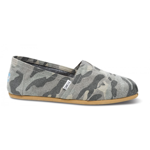 Toms Camo Canvas Men Classics Outlet Coupons