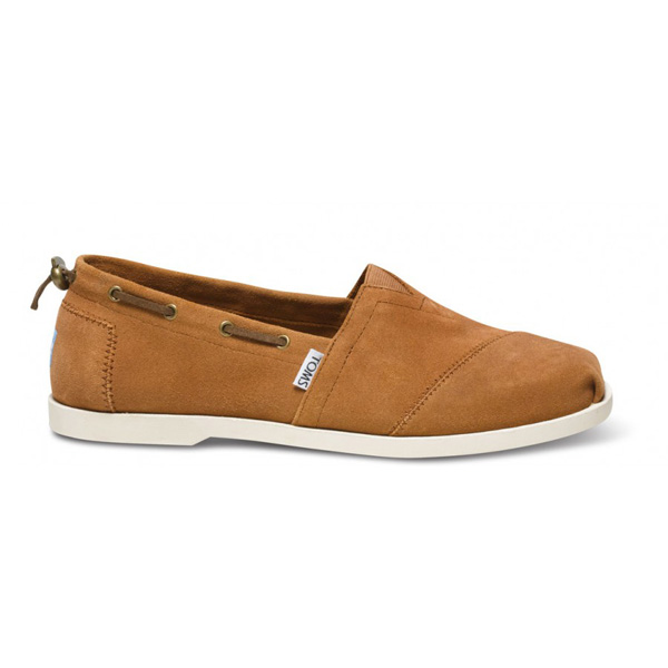Toms Camel Suede Men Nautical Biminis Outlet Coupons