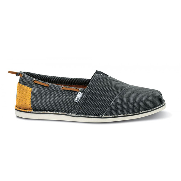 Toms Black Farrin Men Bimini Stitchouts Outlet Coupons