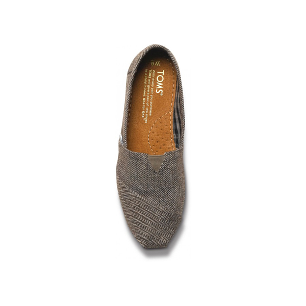 Toms Teal Pop Herringbone Women Classics Outlet Coupons