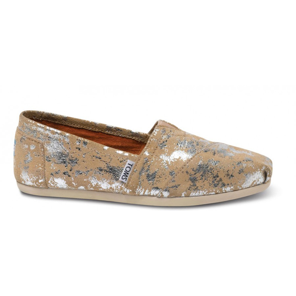 TOMS+ Sand Brushed Metal Women Classic Outlet Coupons