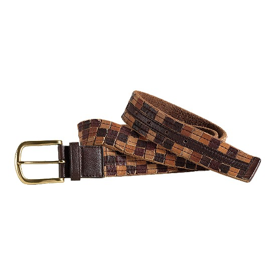 Cole Haan Salsbury Cove Belt Brown Multi Outlet Coupons