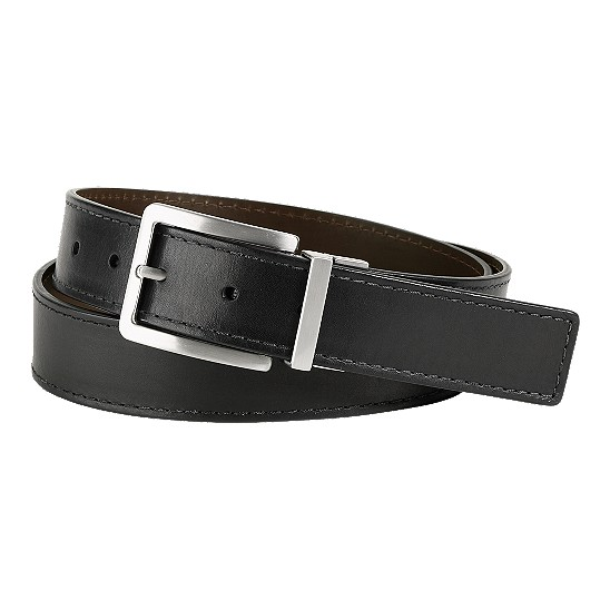 Cole Haan Lenox Belt Black/Coffee Brown Outlet Coupons
