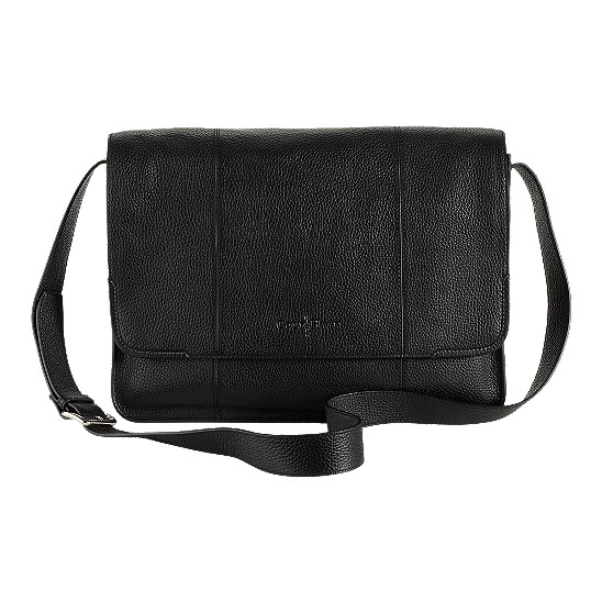 Cole Haan Merced Messenger Black Grain Outlet Coupons