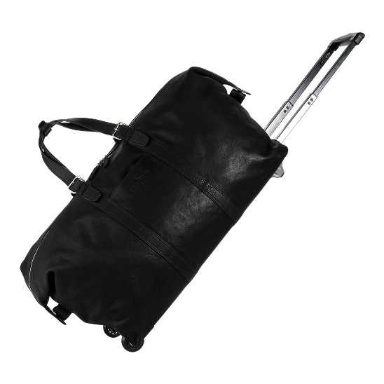 Cole Haan Trovato Wheeled Duffel Black Outlet Coupons