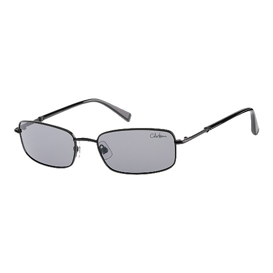 Cole Haan Polar Metal Rectangle Sunglasses Black Outlet Coupons