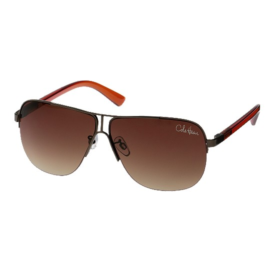 Cole Haan Metal Rimless Square Sunglasses Brown Outlet Coupons
