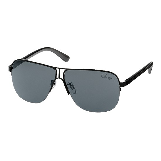 Cole Haan Metal Rimless Square Sunglasses Black Outlet Coupons