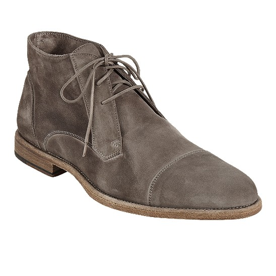 Cole Haan Vincenti Cap-Toe Boot Fossil Suede Outlet Coupons