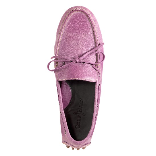 Cole Haan Air Grant Driving Moccasin Hibiscus Suede Outlet Coupons