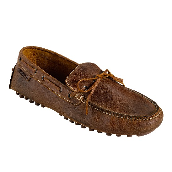 Cole Haan Air Grant Driving Moccasin Bark Suede Outlet Coupons