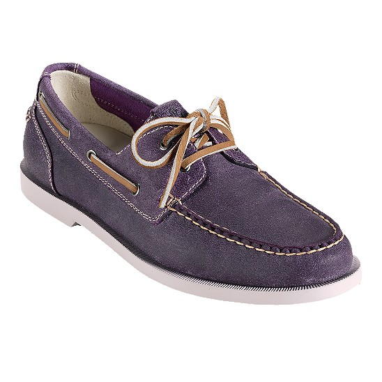 Cole Haan Air Yacht Club Boat Mulberry Suede Outlet Coupons