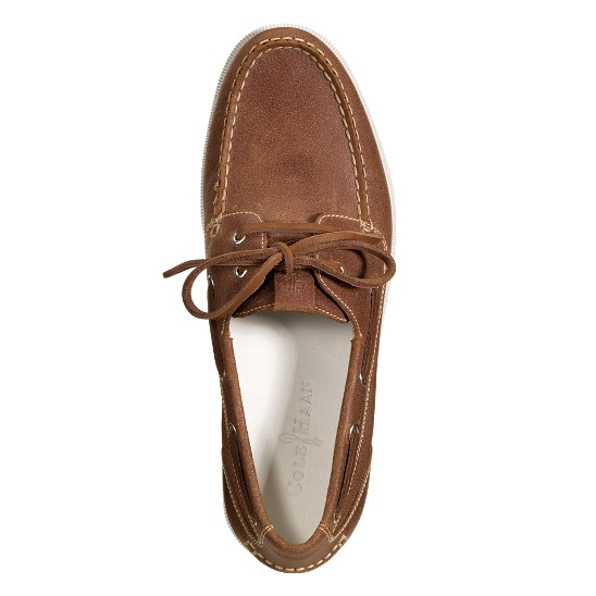 Cole Haan Air Yacht Club Boat Bark Suede Outlet Coupons