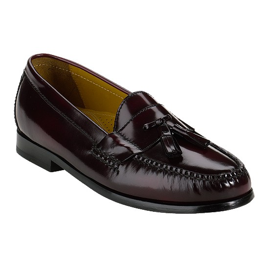 Cole Haan Pinch Air Tassel Burgundy Outlet Coupons