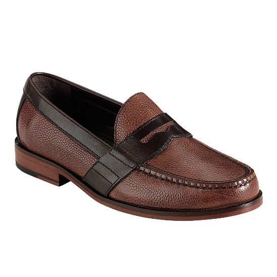 Cole Haan Air Monroe Penny Dark Brown Grain/T Moro Outlet Coupons