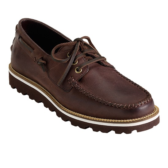 Cole Haan Air Bretton Boat Mahogany Outlet Coupons