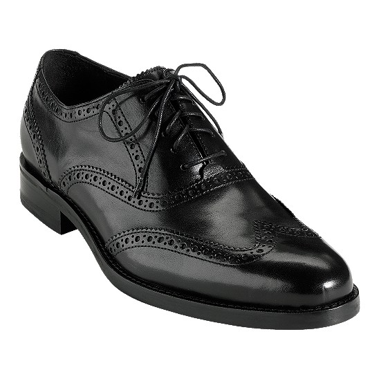 Cole Haan Air Madison Wingtip Oxford Black Outlet Coupons
