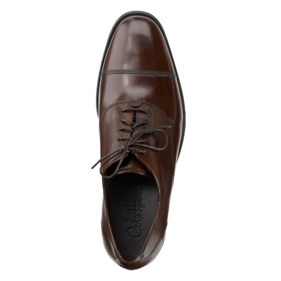 Cole Haan Air Adams Cap Toe Oxford Dark Brown Outlet Coupons