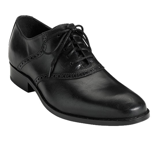 Cole Haan Air Colton Saddle Oxford Black Outlet Coupons