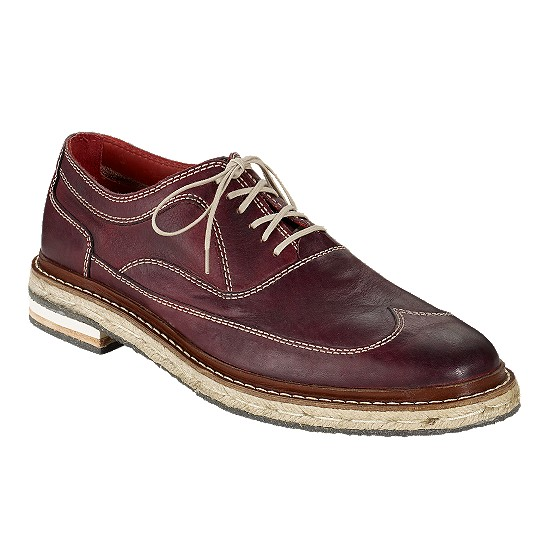 Cole Haan Cooper Wingtip Bordeaux Outlet Coupons