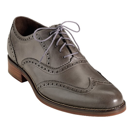 Cole Haan Air Madison Wingtip Oxford Charcoal Outlet Coupons