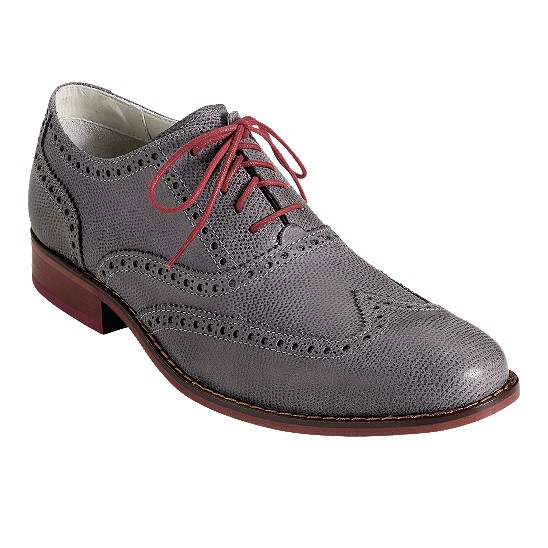Cole Haan Air Colton Casual Wingtip Oxford Iron Textured Outlet Coupons