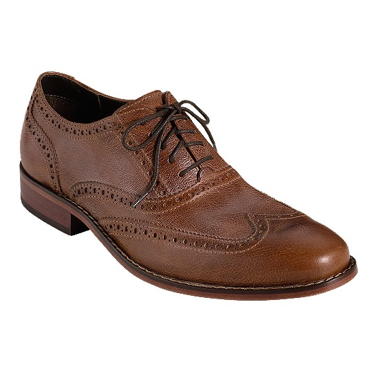 Cole Haan Air Colton Casual Wingtip Brown Outlet Coupons
