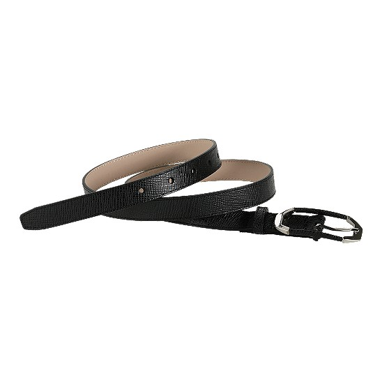Cole Haan Center Bar Belt Black Outlet Coupons