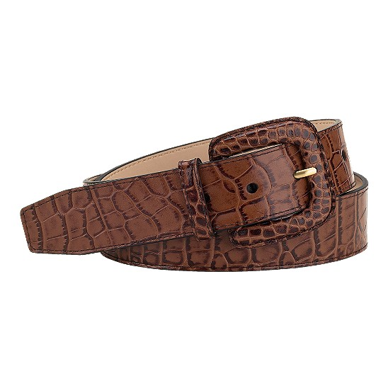 Cole Haan London Croc Wide Belt Woodbury Outlet Coupons