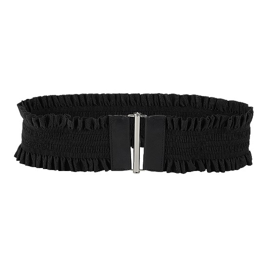 Cole Haan Slider Stretch Belt Black Outlet Coupons