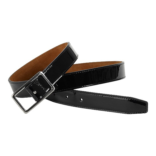 Cole Haan Cornelia Classic Belt Black Patent Outlet Coupons