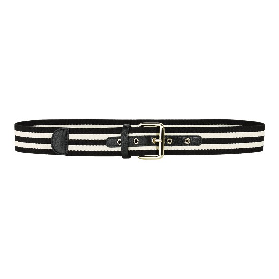 Cole Haan Webbing Belt Black/Ivory Outlet Coupons
