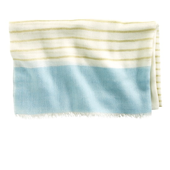 Cole Haan Transitional Stripe Scarf Ivory/Chick/Candy Fl Outlet Coupons